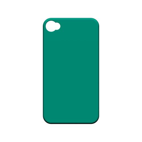 S13 Pantone Emerald - Geeks Designer Line Pantone Color Series Matte Case for Apple iPhone 4/4S