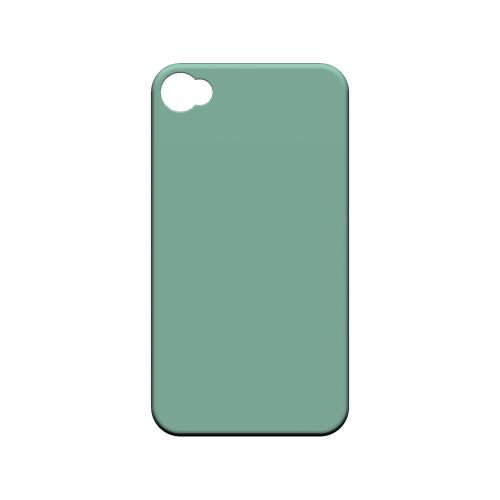 S13 Pantone Grayed Jade - Geeks Designer Line Pantone Color Series Matte Case for Apple iPhone 4/4S