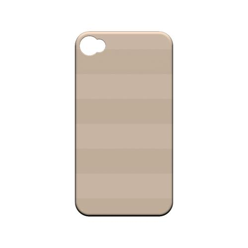 Stripes Linen - Geeks Designer Line Pantone Color Series Matte Case for Apple iPhone 4/4S