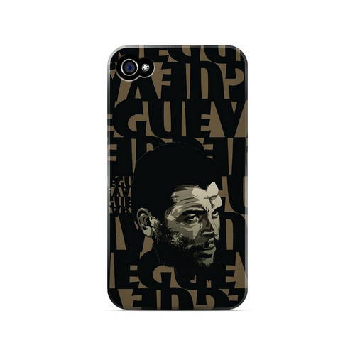 Che Guevara Serious Man on Brown - Geeks Designer Line Revolutionary Series Matte Case for Apple iPhone 4/4S