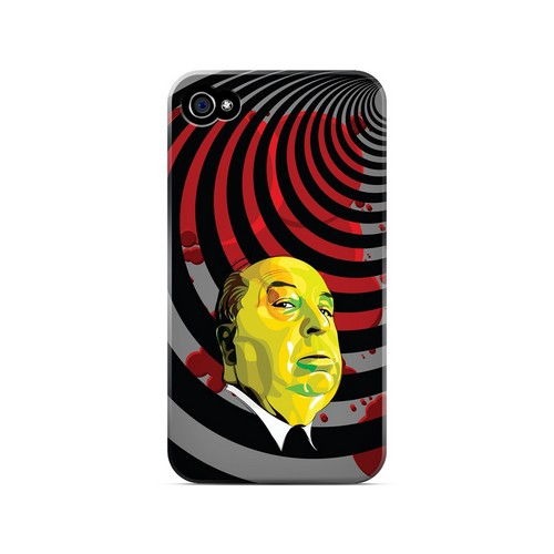 Hitchcock Vertigo - Geeks Designer Line Revolutionary Series Matte Case for Apple iPhone 4/4S