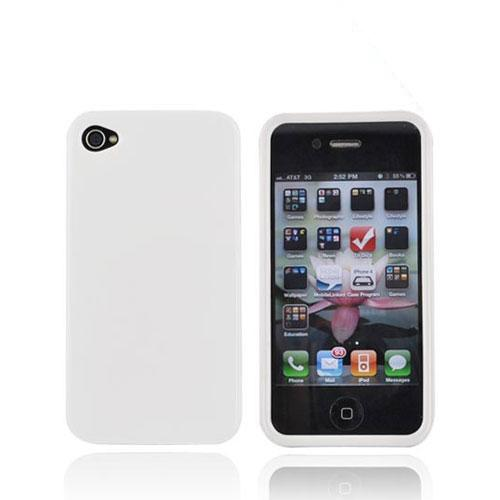 Luxmo Apple Verizon/ AT&T iPhone 4, iPhone 4S Hard Case - White