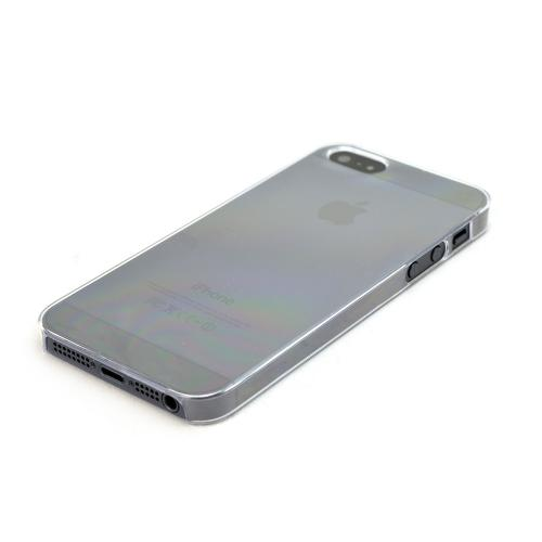 Transparent Clear Hard Case Back Cover for Apple iPhone 5/5S - XXIP5