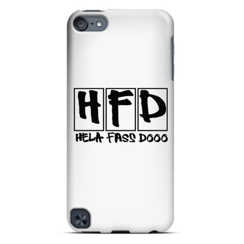 HFD Logo Hard Plastic Case for Apple iPod Touch 5