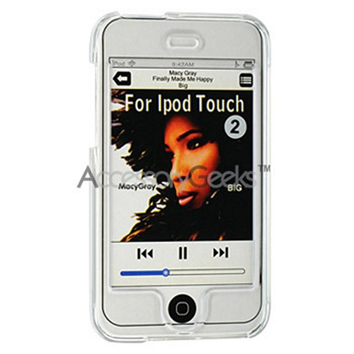 Apple iPod Touch 2 & 3 Hard Case - Transparent Clear