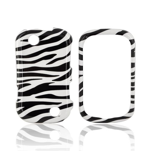 Kyocera Milano C5120 Hard Case - Black/ White Zebra
