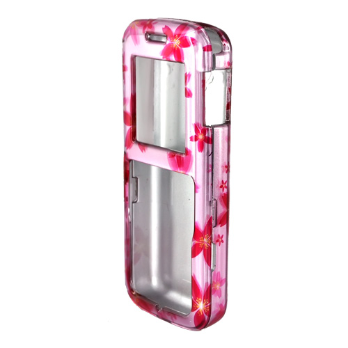 LG 100 Hard Case - Pink Flowers on Pink