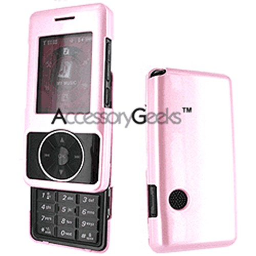 LG Chocolate VX8500 Protective Case - Baby Pink