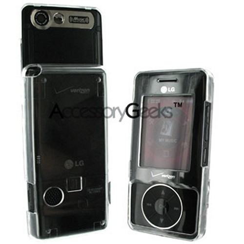 LG Chocolate VX8500 Protective Hard Case - Transparent Clear