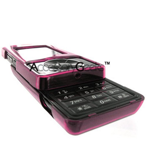 LG Chocolate VX8500 Protective Case - Transparent Pink