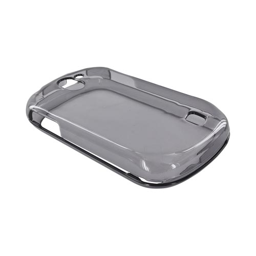 LG Doubleplay Hard Case - Transparent Smoke
