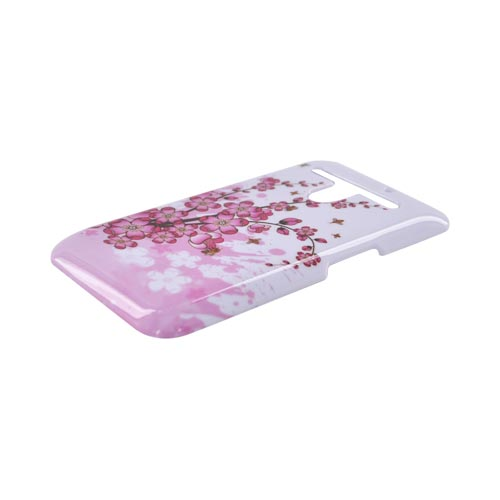 LG Revolution, LG Esteem Hard Case - Cherry Blossom on White