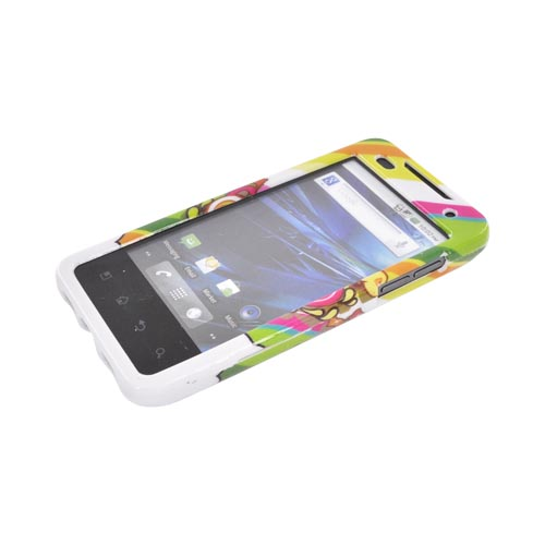 T-Mobile G2X Hard Case - Colorful Pirate Bay on White