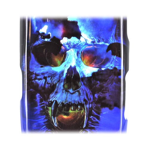 LG Rumor Reflex Hard Case - Blue Skull