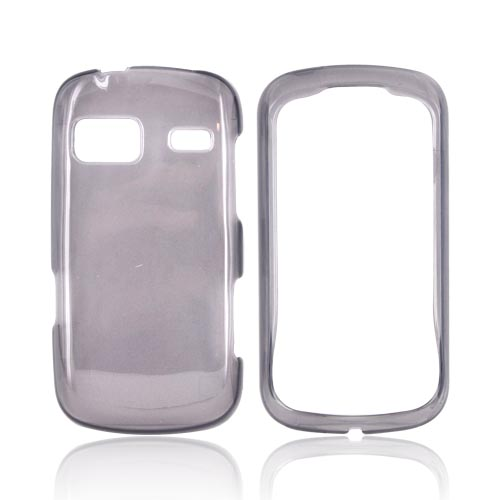 LG Rumor Reflex Hard Case - Transparent Smoke