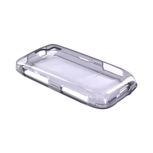 LG Optimus S LS670 Hard Case - Transparent Smoke