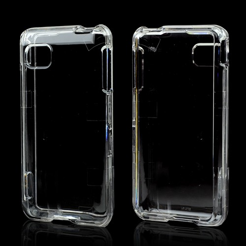 Clear Hard Case for LG Optimus F3 - Sprint/ Virgin Mobile