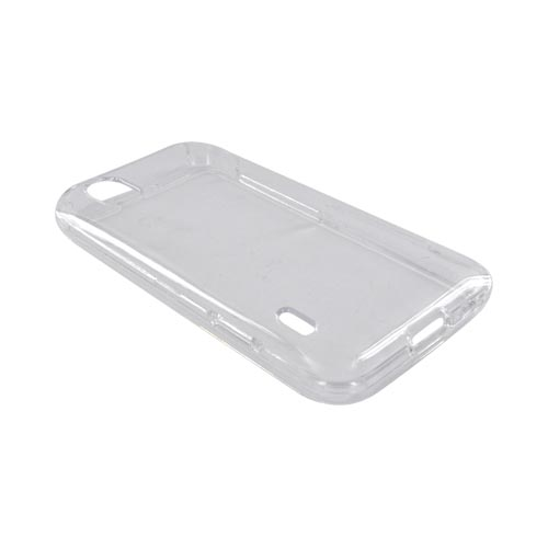 LG Marquee LS855 Hard Case - Clear