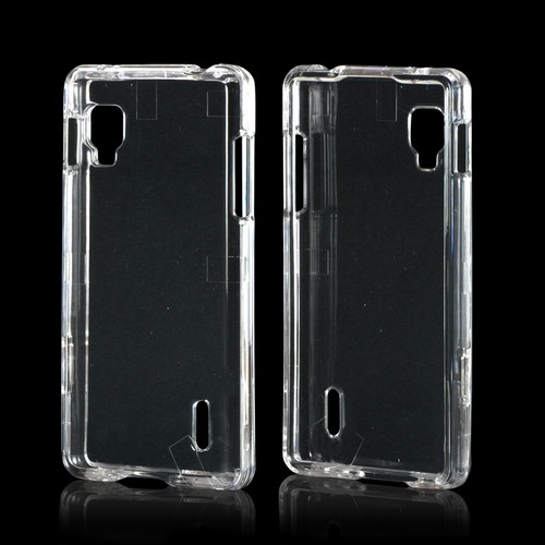 Transparent Clear Hard Case for LG Optimus G (Sprint)