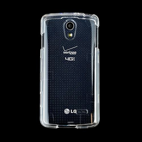 Clear LG Lucid 3 Hard Case Cover; Perfect fit as Best Coolest Design Plastic cases