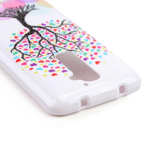 Love Heart Tree on White Hard Case for LG G2 (AT&T, T-Mobile, & Sprint)