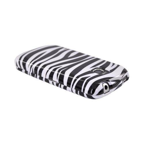 LG Optimus T / LG Thrive Hard Case - Black Zebra on White