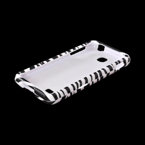 LG Escape Hard Case - Black/ White Zebra