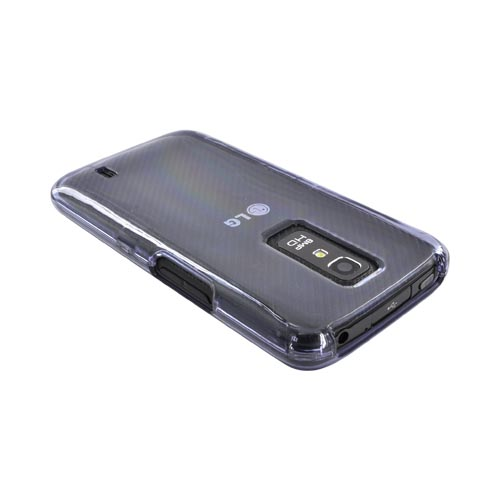 LG Nitro HD Hard Case - Transparent Clear