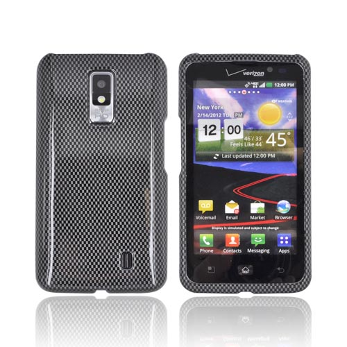 LG Spectrum Hard Case - Carbon Fiber