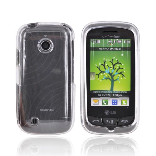 LG Cosmos Touch VN270 Hard Case - Transparent Clear