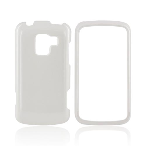 LG Enlighten VS700 Hard Case - Solid White