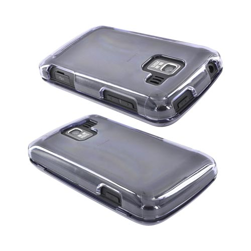 LG Enlighten VS700 Hard Case - Transparent Smoke