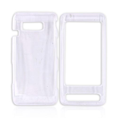 LG Fathom VS750 Hard Case - Transparent Clear
