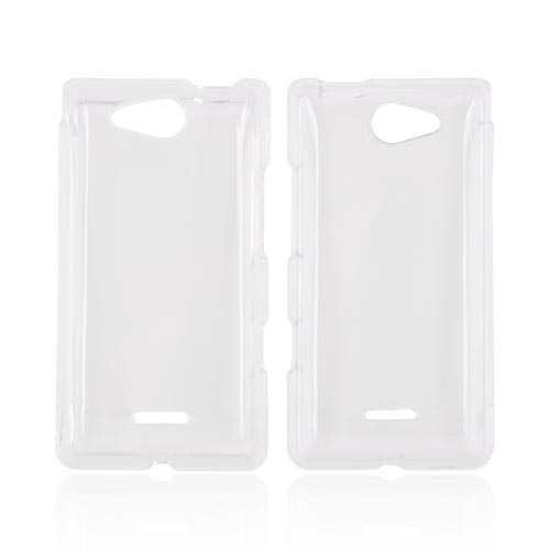 LG Lucid 4G Hard Case - Transparent Clear