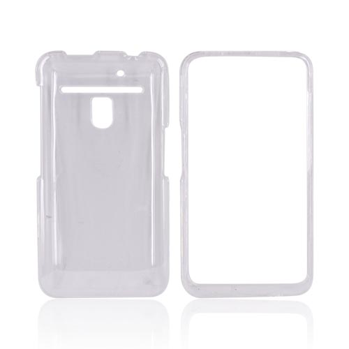 LG Revolution, LG Esteem Hard Case - Clear