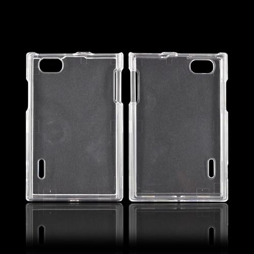 LG Optimus Vu VS950 Hard Case - Transparent Clear