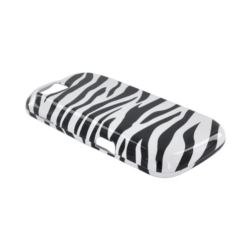 Motorola Admiral Hard Case - Black/ White Zebra