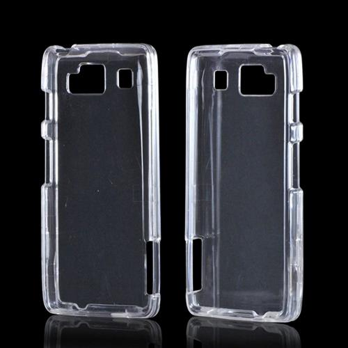 Transparent Clear Hard Case for Motorola Droid RAZR MAXX HD