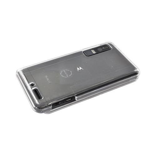 Motorola Droid 3 Hard Case - Clear