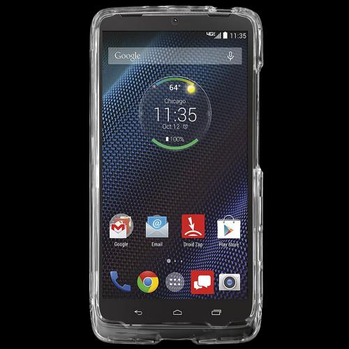 Motorola Droid Turbo Protective Slim Hard Case Cover [Clear] [Ultra Slim and Perfect Fitting Motorola Droid Turbo (2014) Case]