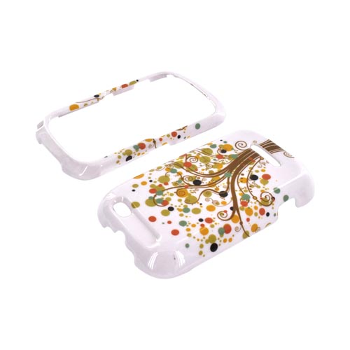 Motorola Clutch+ i475 Hard Case - Tree Design on White