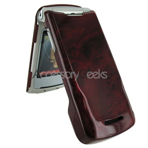 Motorola K1M Protective Hard Case - Red Wood