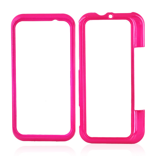 Motorola Backflip MB300 Hard Case - Hot Pink