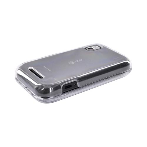 Motorola Flipside MB508 Hard Case - Transparent Clear