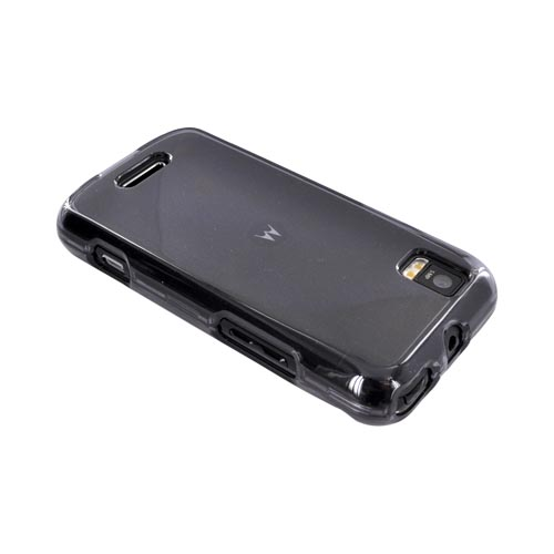 Motorola XPRT MB612 Hard Case - Transparent Smoke