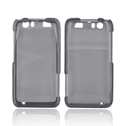 Motorola Atrix HD Hard Case - Transparent Smoke