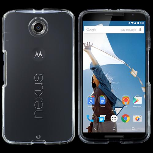Motorola Nexus 6 Protective Slim Hard Case Cover [Clear] [Ultra Slim and Perfect Fitting Motorola Nexus 6 Case]