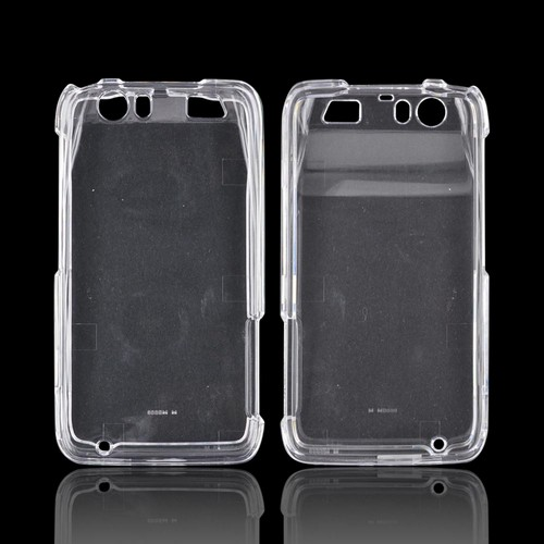 Motorola Atrix HD Hard Case - Transparent Clear