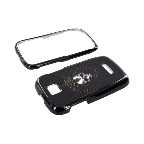 Motorola Theory Hard Case - Cross Skull on Black