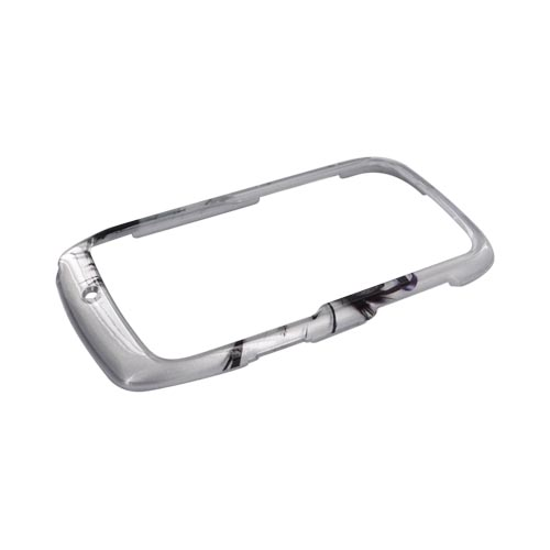 Motorola Theory Hard Case - Silver Racecar on Silver